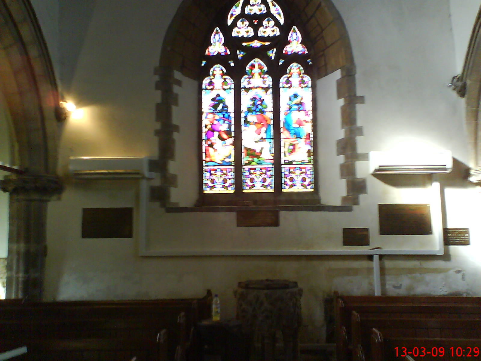 Air Conditioning Heat Pump Case Study Of All Saints Church