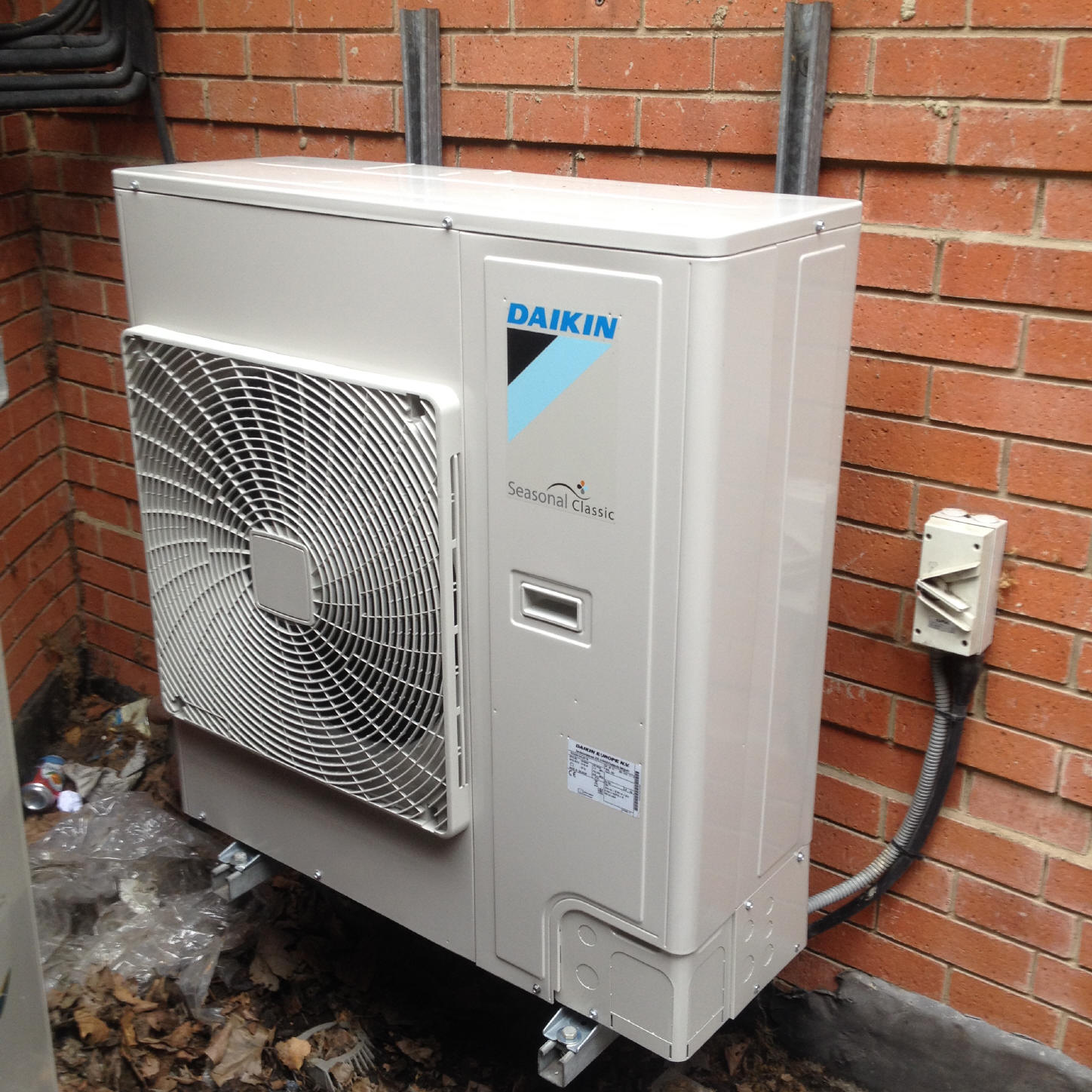 #1A74B1 Ruddy Joinery London SE1 Air Conditioning Daikin VRF Heat  Recommended 10597 Air Conditioner Vrf System pics with 1448x1448 px on helpvideos.info - Air Conditioners, Air Coolers and more