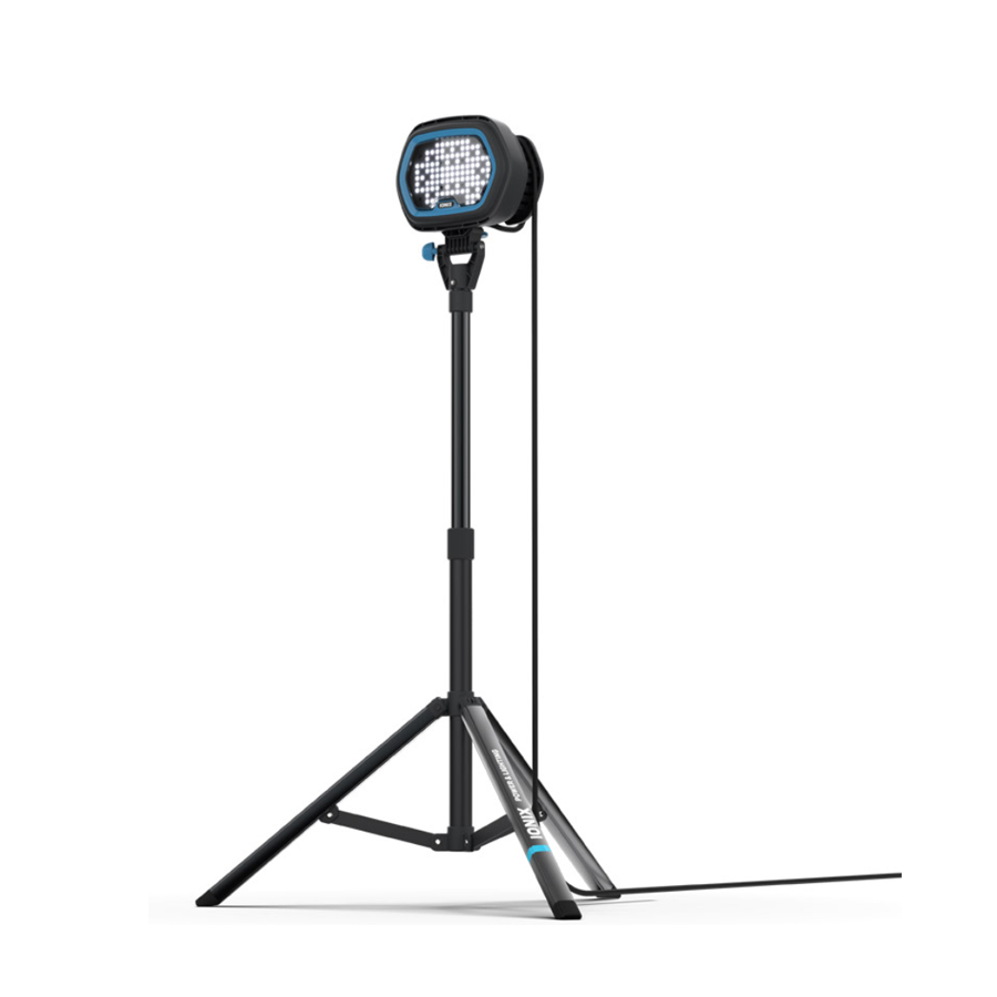 EXION E1 range of high output LED industrial site lighting tripod system