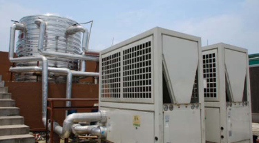 High Output Commercial/industrial Air Source Heat-pump