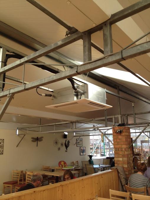 Flitvale Garden Centre Cafe Air Conditioning