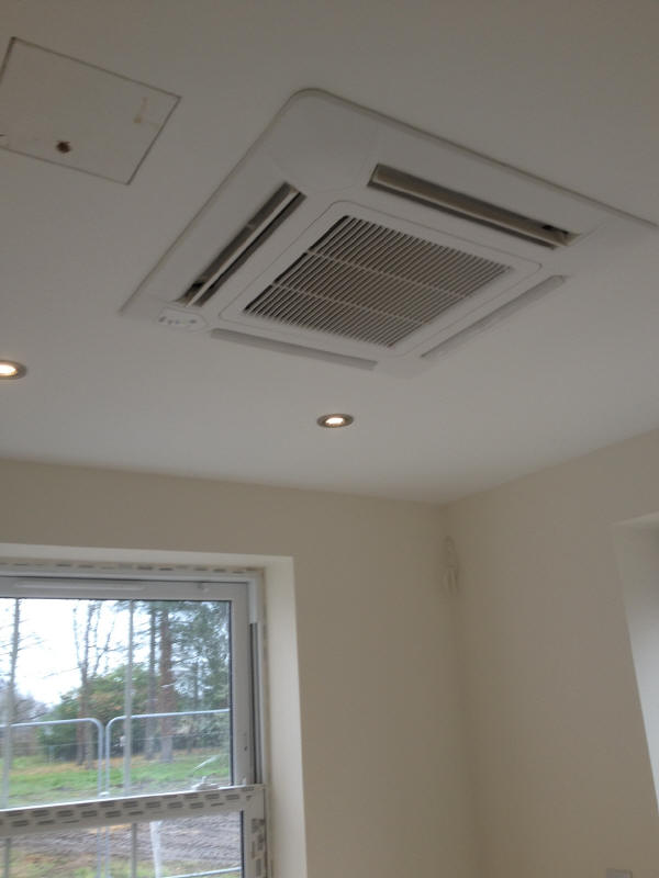 Chippenham Lodge House Heat Pump Air Conditioning System