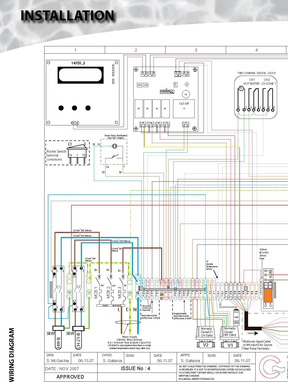 Boilermate A Class Hp Dem 600 Wiring Diagram Installation Page 28
