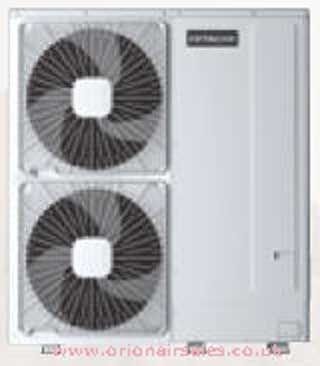 "Hitachi RHUE-3AVHN Yutaki ""all in one"" air source heat-pump boiler (8.2 kW / 28000 Btu) DHW/heating"