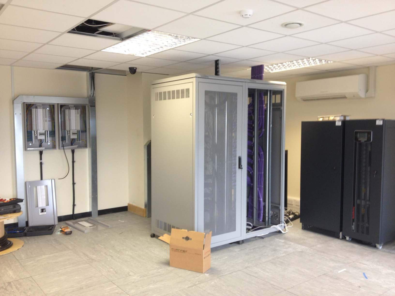 Server Room Design : Server room air conditioning at saga healthcare plc