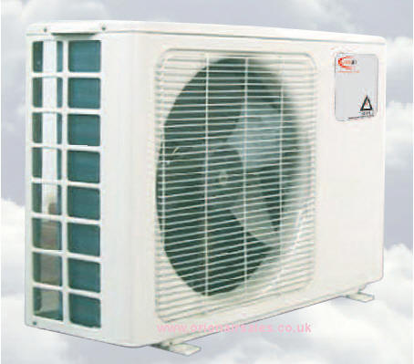 The Trianco Altherma Heat-pump is a unique product which consists solely of one neat, compact unit, complete with refrigerant. The 3 and 5kW are suitable for DHW and can be sited internally or externally.