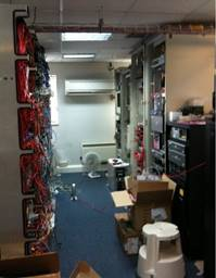 How to use air conditioning in a server room.