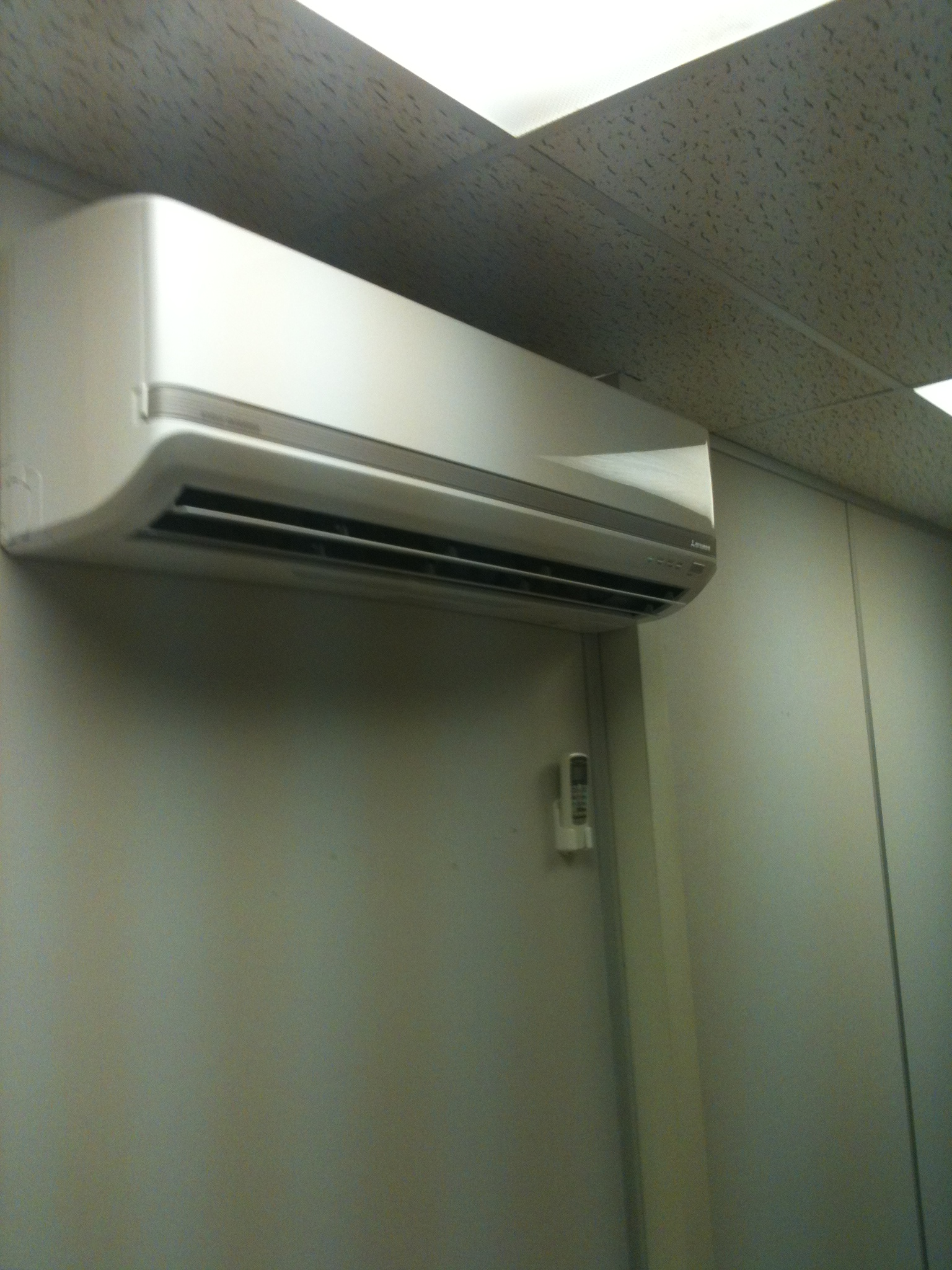 Completion of server room air conditioning project for Fibrefab #6B7556